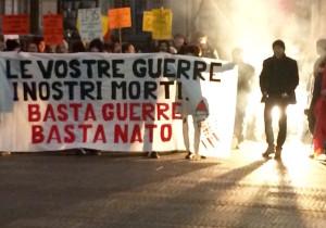 Corteo contro la Nato a Firenze