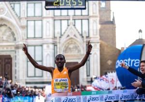 L'arrivo di Firenze Marathion 2015