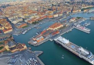 Il porto di Livorno