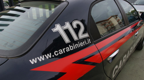 L'uomo è stato arrestato dai Carabinieri