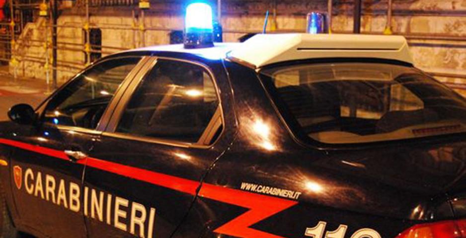 Sul luogo dell'omicidio suicidio sono intervenuti i Carabinieri