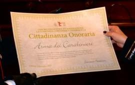 Cittadinanza onoraria di Cortona ai Carabinieri