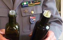 Tappi di olio di oliva controllati dal Corpo Forestale dello Stato