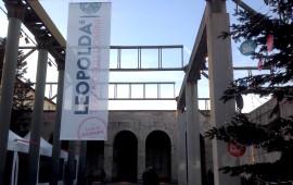 L'ingresso dell'ex Stazione Leopolda a Firenze