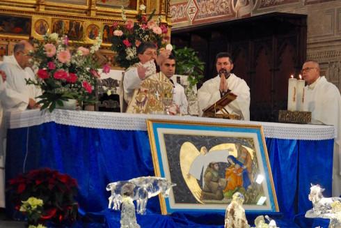 Il Cardinale Betori celebra la Messa per l'Aeronautica