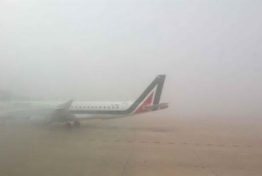 Nebbia aeroporto