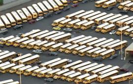 Bus school fermi a Los Angeles dopo l'allarme bomba
