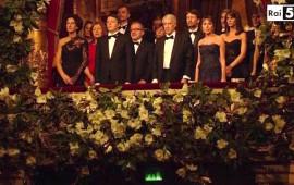 Il premier Matteo Renzi al Teatro alla Scala