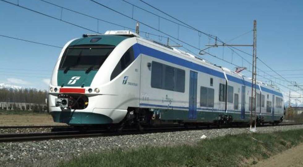 Un treno regionale di Trenitalia
