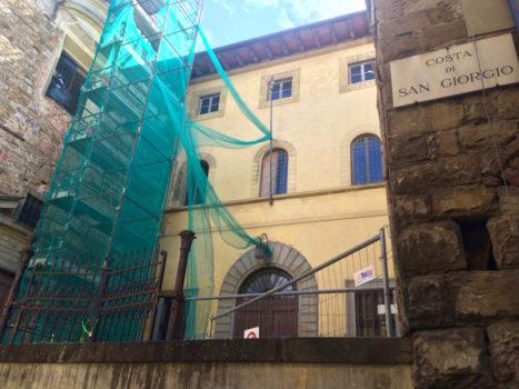 L'ex caserma in Costa San Giorgio a Firenze