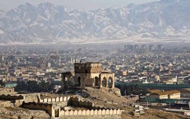 Una veduta di Kabul