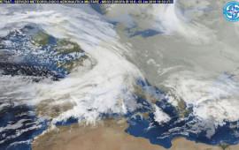 Le perturbazioni hanno invaso anche il bacino del Mediterraneo