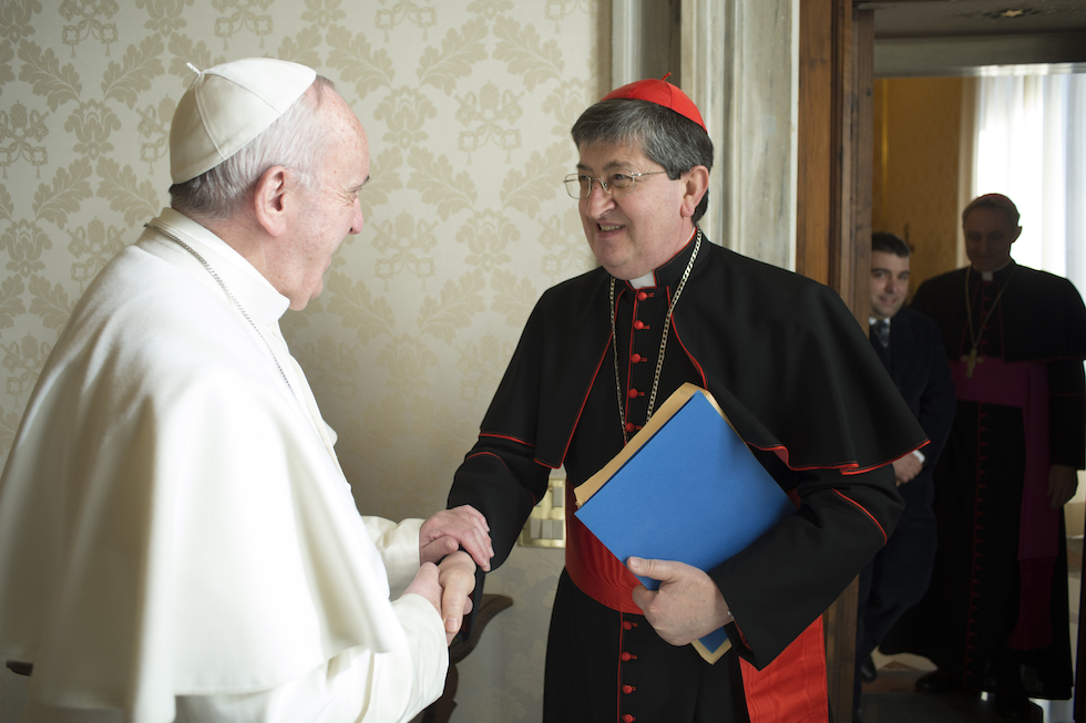 Papa Francesco e il Cardinale Giuseppe Betori