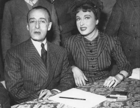 Silvana Pampanini e Totò