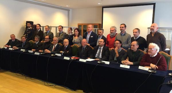 L'incontro a Firenze tra il prefetto Giuffrida, le questure della Toscana e i delegati dell'Ens