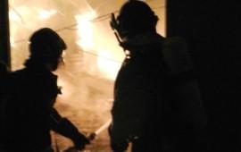 Vigili del Fuoco in azione a Montemurlo