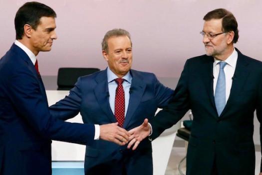 Difficile accordo tra Pedro Sánchez (sin.) e Mariano Rajoy