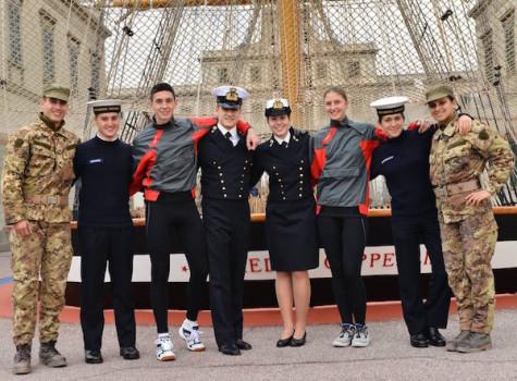 Allievi dell'Accademia Navale