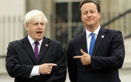 Boris Johnson e David Cameron quando erano amici