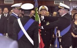 Il passaggio della Bandiera all'Accademia Navale