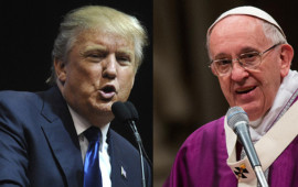Donald Trump e Papa Francesco