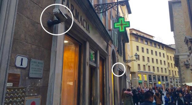 Sempre più necessarie le telecamere per la sicurezza dei negozi