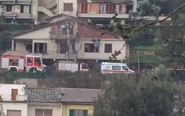La casa dove è successo il dramma (Foto ValdarnoPost)