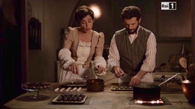 La preparazione dei primi cioccolatini