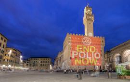 Palazzo Vecchio sostiene la campagna Polio Plus