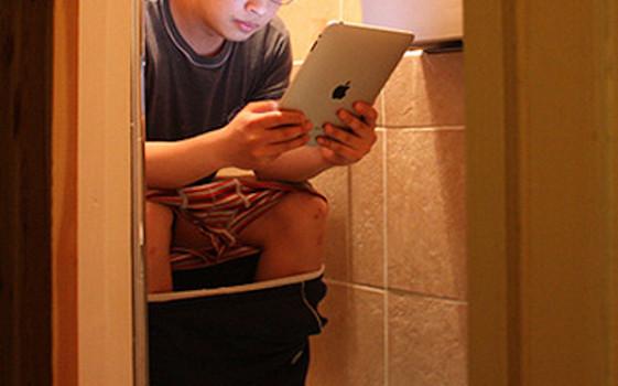 Tablet in bagno
