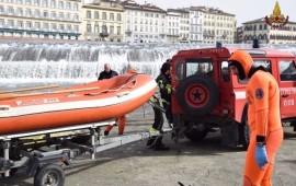 I sommozzatori dei Vigili del Fuoco hanno recuperato il corpo in mezzo al fiume