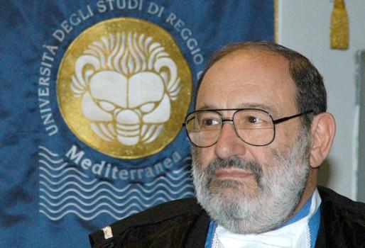 Umberto Eco nel 2002