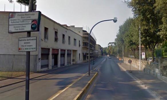 Riapre via Valfonda (foto da Street View)