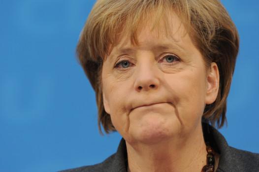 La cancelliera tedesca Angela Merkel (CDU)