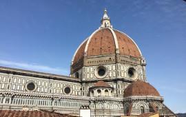 La cupola di Brunelleschi del Duomo di Firenze 800x505