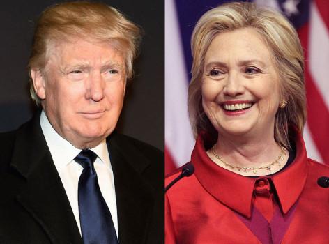 Donald Trump e Hillary Clinton i probabili sfidanti finali alla Casa Bianca
