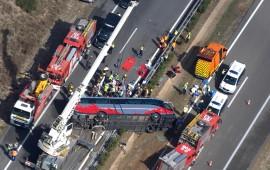 Il tragico incidente sull'autostrada tra Valencia e Barcellona in Spagna