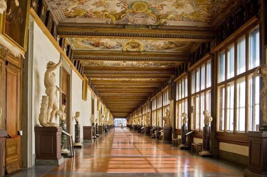 Galleria degli Uffizi aperta dalle 8,15 alle 18,50