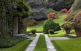 Il giardino di Villa Ratti a Como realizzato da Pietro Porcinai