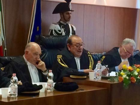 Il presidente Ignazio Del Castillo (al centro)