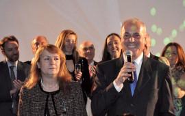 Il questore di Firenze Raffaele Micillo con la consorte signora Iride