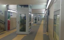 Il sottopassaggio alla Stazione Firenze Campo Marte