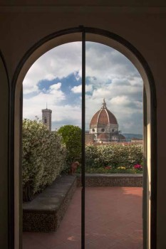 Terrazza di Palazzo Gondi a Firenze
