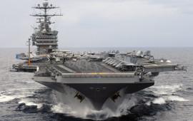 La portaerei Usa Harry S. Truman operativa nel Mediterraneo