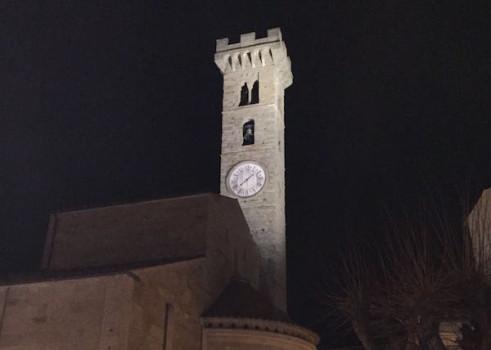 Il campanile simbolo della città di Fiesole