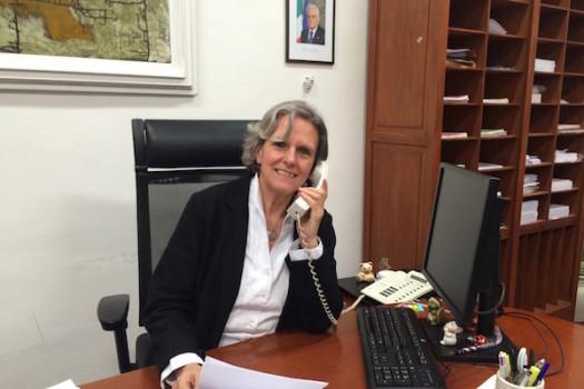 Anna Ravoni, sindaco di Fiesole