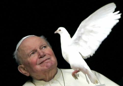 Giovanni Paolo II il 30 gennaio 2005, due mesi prima di morire