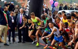 La partenza di Half Marathon 2016