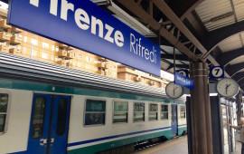 la stazione di Firenze Rifredi