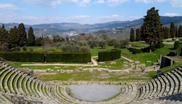 L'area archeologica del Teatro Romano di Fiesole